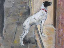 DAME ELIZABETH BLACKADDER Venetian Dog 2008