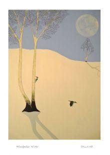Woodpecker Winter By Stuart Hill