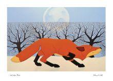Winter Fox By Stuart Hill