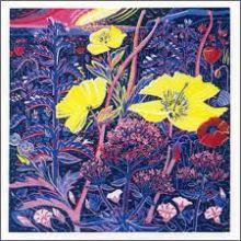 Shingle Flowers Greeting Card by Annie Soudain