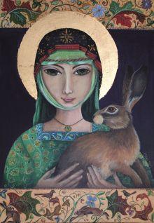 St Melangell & the Hare