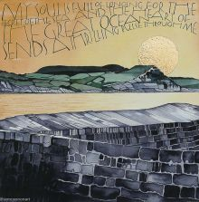 Sunrise over Golden Cap - using words from 'Sea Fever' by John Masefield