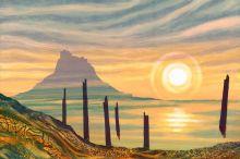 Sunrise, Lindisfarne