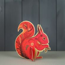 Cyril Die cut squirrel by Sarah Young