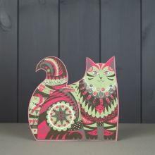 Marmaduke 3D die cut cat by Sarah Young