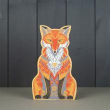 Felix 3D die cut fox by Sarah Young
