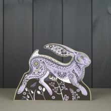 Hester 3D die cut hare by Sarah Young