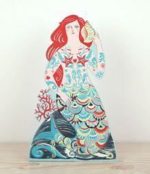 Meryl Die cut mermaid by Sarah Young