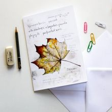 Field Notes: Sycamore - Large Art Card by Hannah Longmuir