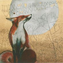 The world is full of magical things GREETING CARD BY SAM CANON