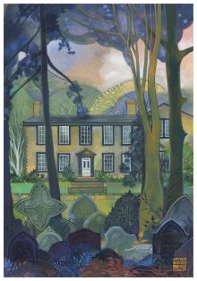 The Bronte Parsonage By Kate Lycett