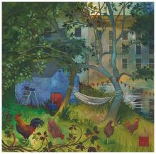 The Hammock By Kate Lycett