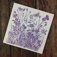 the meadow GREETING CARD BY CELIA HART