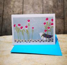 Sea Pinks By Liz Toole