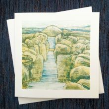 Time To Return - Algan Arts Gail Kelly Greeting Card