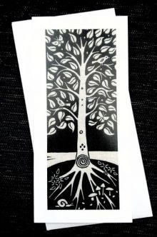 Tree Of Life - Algan Arts Gail Kelly Greeting Card