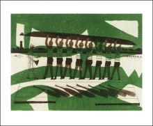 The Rowers, 1972  Julian Trevelyan (1910-1988)