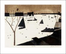 Winter, 1974 by Julian Trevelyan