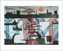 Woolwich Barrier by Julian Trevelyan