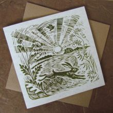 Up with the lark - Greeting Card by Celia Hart