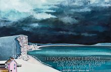 West Bay, Dorset Art Card By Sam Cannon