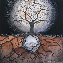 When the roots are deep Art Card By Sam Cannon