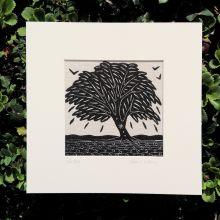 Algan Arts - Gail Kelly Willow Tree Linen Print