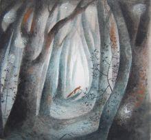 Woodland Print By Flora McLachlan