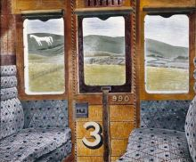 Train Landscape Eric Ravilious