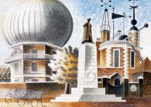 Eric Ravilious Greenwich Observatory