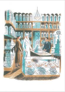 Eric Ravilious Cake Maker