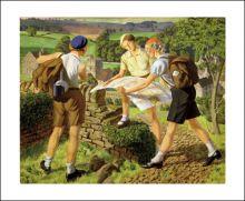 Hiking, 1936  James Walker Tucker (1898-1972)